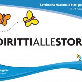 Settimana nazionale Nati per Leggere 2019 e Festival Diritti e Storti. Appuntamenti dall'11 al 29 novembre 2019