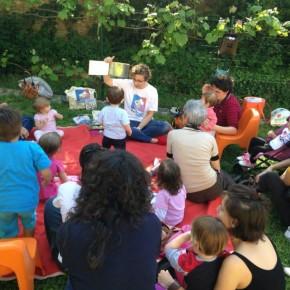 #abassavoce in giardino. Punto Lettura Nuovo Guscio, 8/07/16 h 17