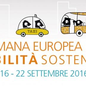 S.E.M. 2016 – Settimana Europea della Mobilità sostenibile: 16-22 settembre 2016