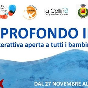 Com'è profondo il mare. Mostra ludico interattiva. Biblioteca Quarantotti Gambini, 27/11-18/12/18